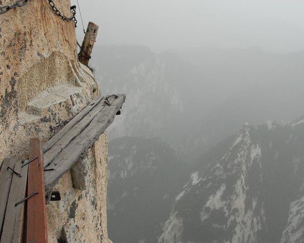 El pasaje más peligroso del Mundo, paisaje unico...