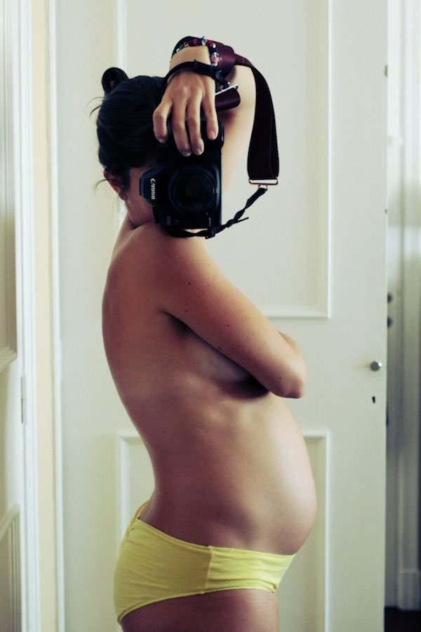selfie embarazada5