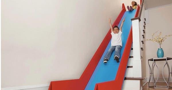 tobogan escaleras