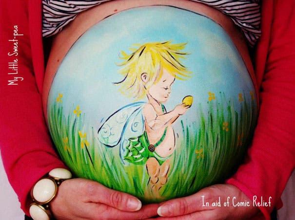 embarazo artistico12