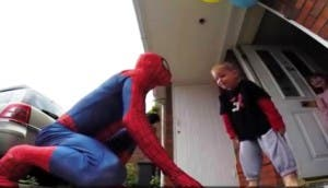 Papá-Spiderman