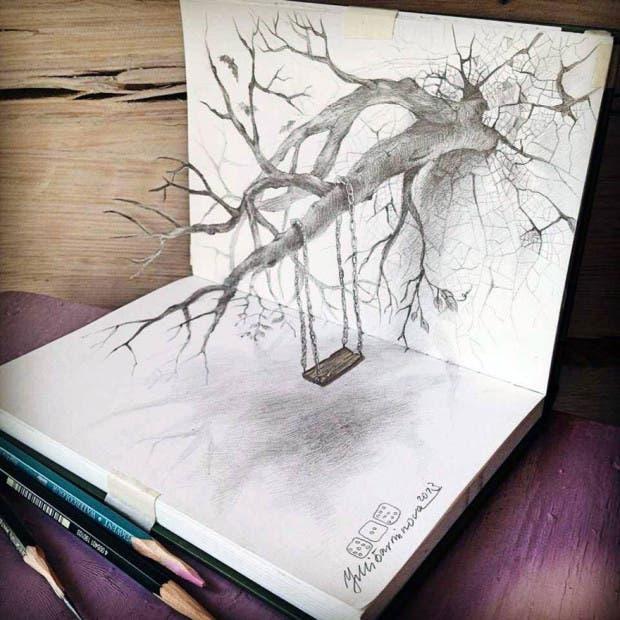 dibujos 3D1