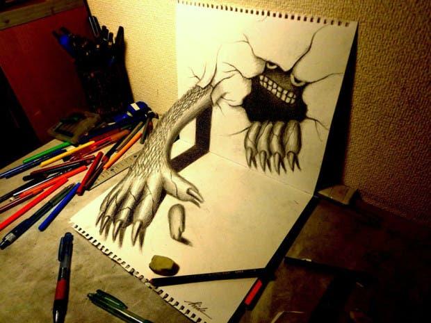 dibujos 3D27