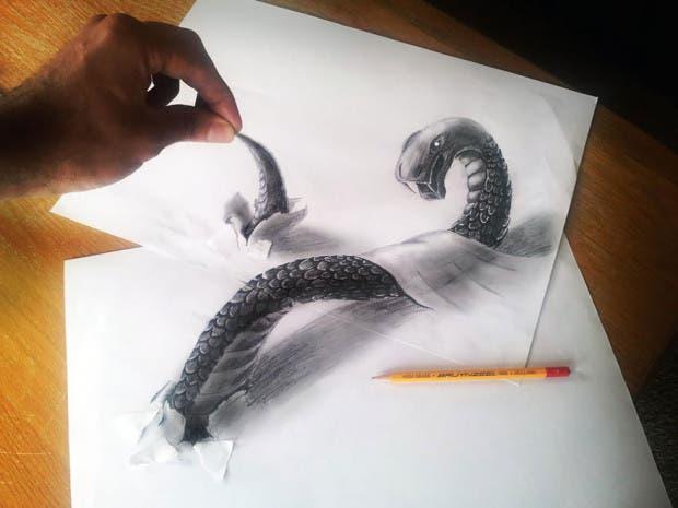 dibujos 3D3
