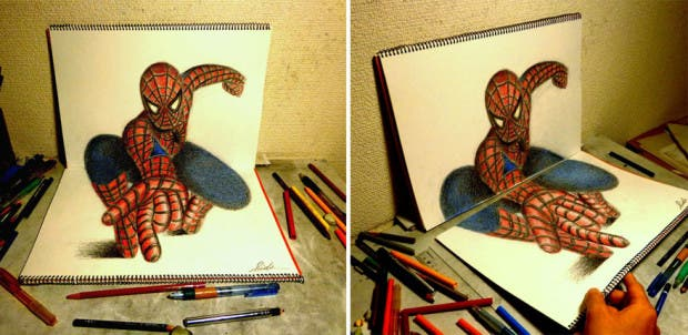dibujos 3D30