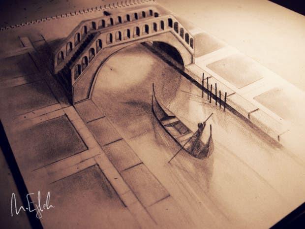 dibujos 3D5