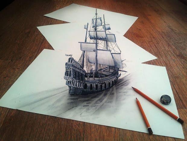 dibujos 3D7