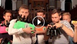 musica-con-botellas-de-cerveza