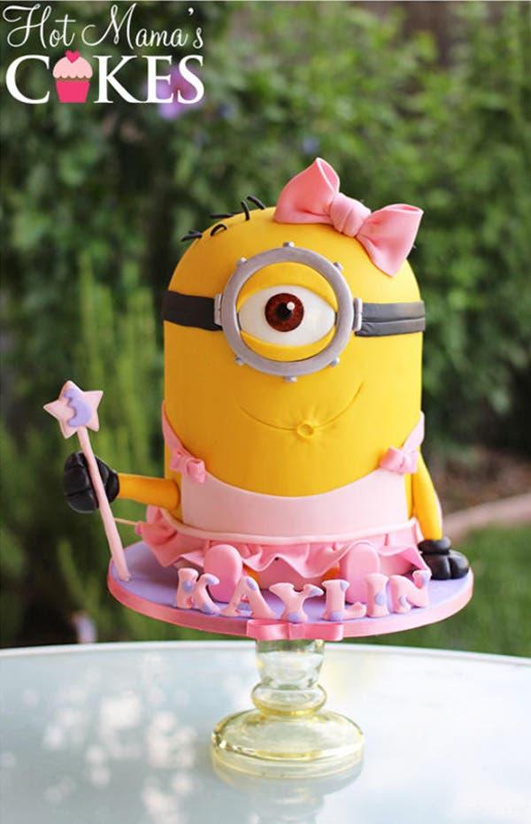 minion template for cake - estos creativos pasteles de minion te van a encantar y a