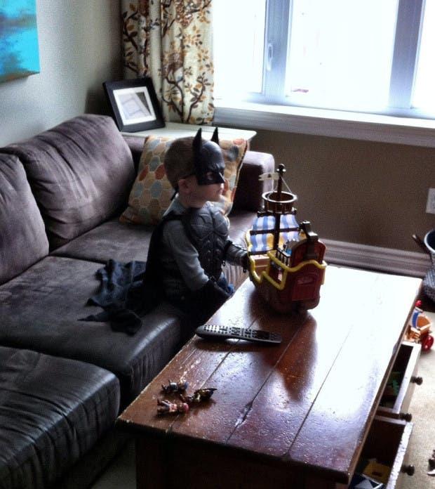 My-best-friend-son-watching-old-school-Ninja-Turtles-just