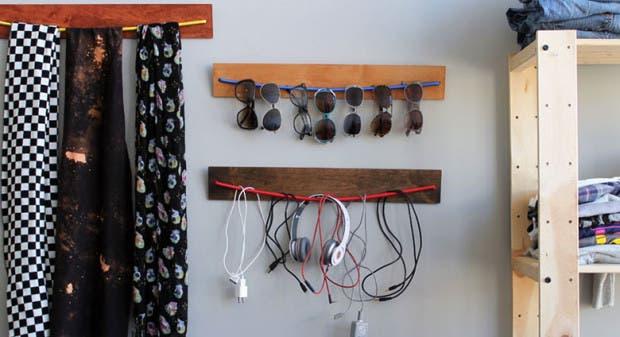 DIY_Wooden_Bungee_Organizer