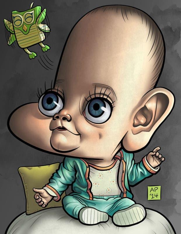 artista restratos bebés (11)