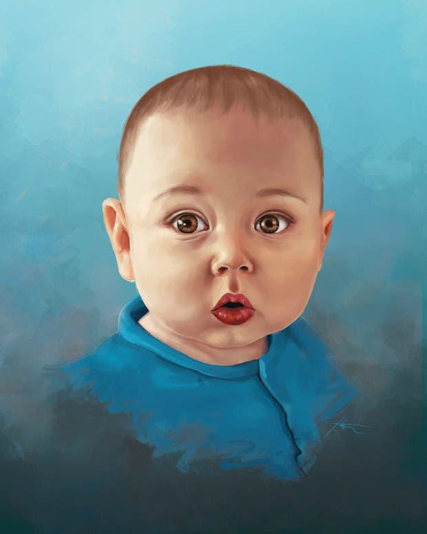 artista restratos bebés (16)