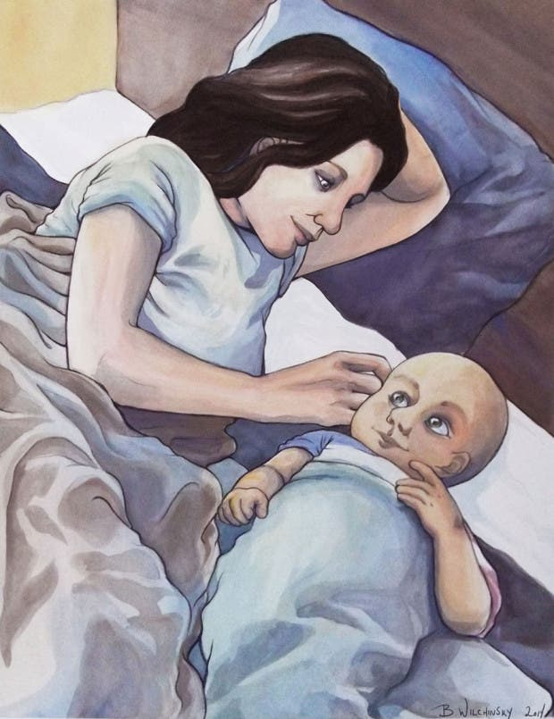 artista restratos bebés (18)