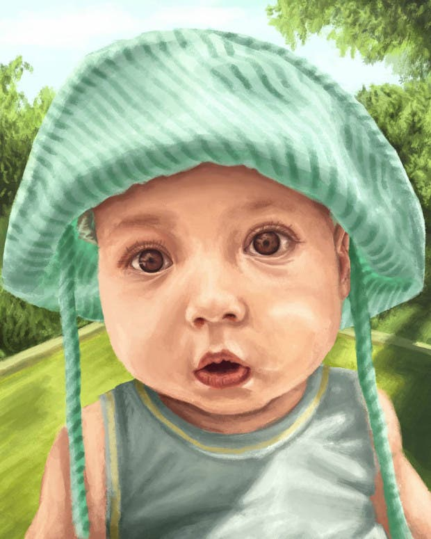 artista restratos bebés (20)