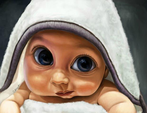 artista restratos bebés (4)