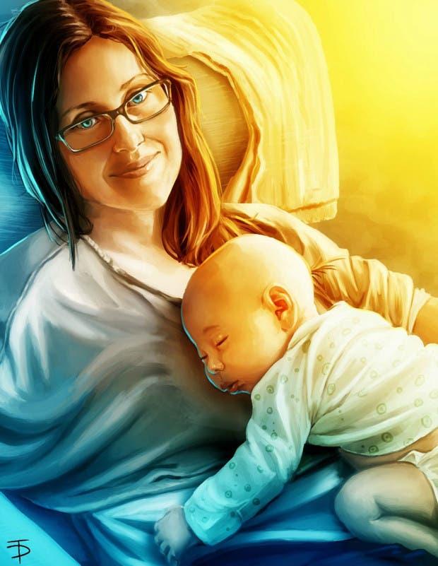 artista restratos bebés (6)
