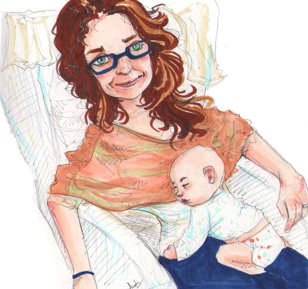 artista restratos bebés (7)