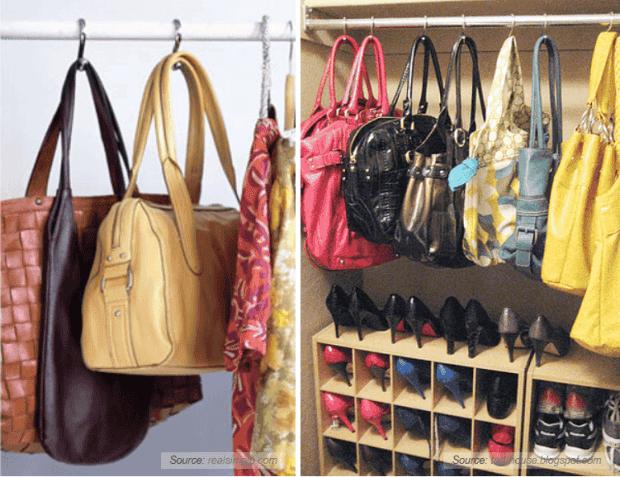 Fant sticas y pr cticas ideas para organizar tu hogar for Percheros para bolsos