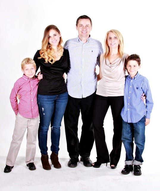 familia junta
