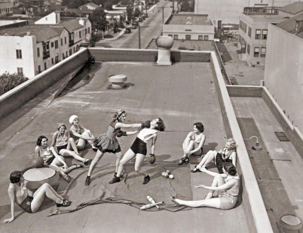 10. mujers boxeadoras