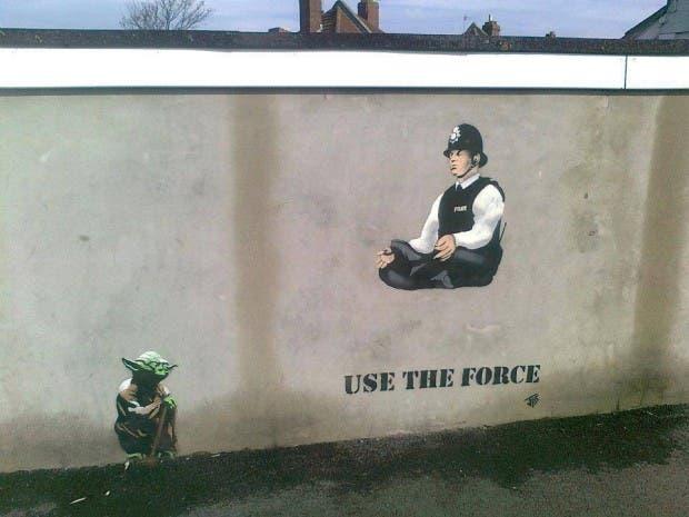 grafiti-policia