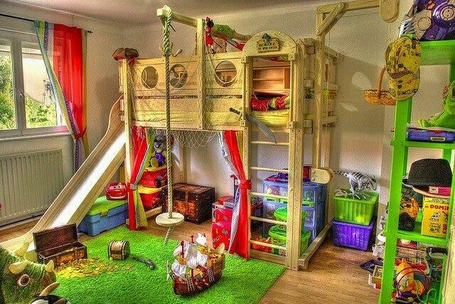 habitacion niños aventuras