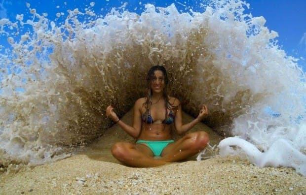 agua playa