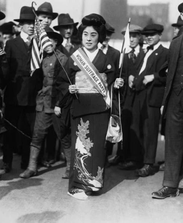 15. sufragista japonesa