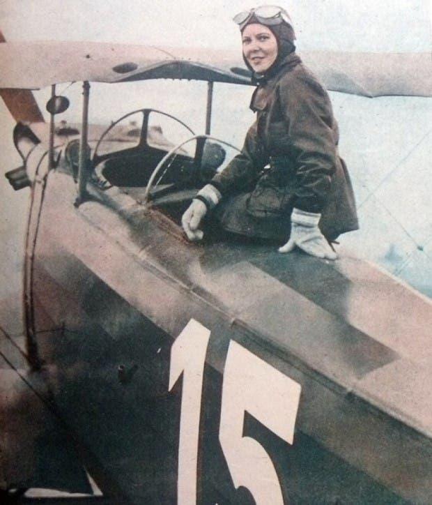 26. piloto femenino