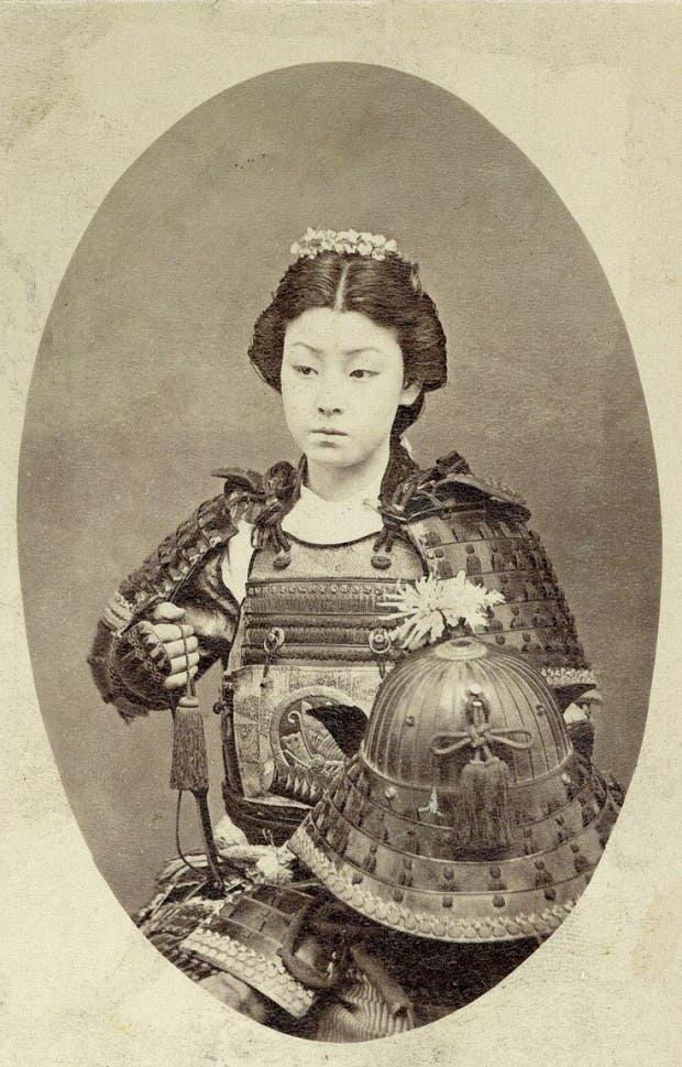 8. Guerrera samurai