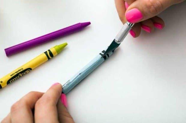 hacer velas con crayolas (4)
