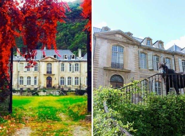 Una pareja compr este castillo franc s por internet ni for Renovacion de casas viejas