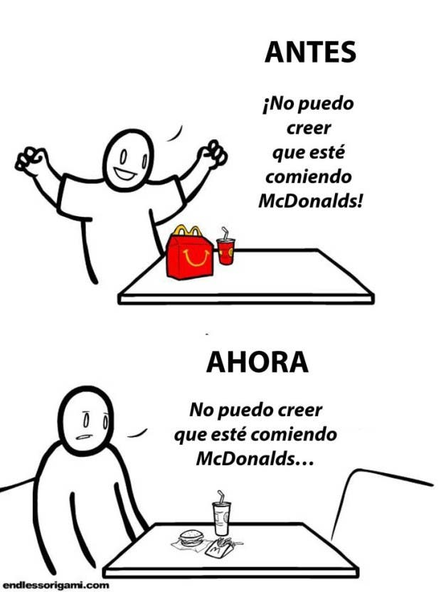 5antes y despues mc donalds
