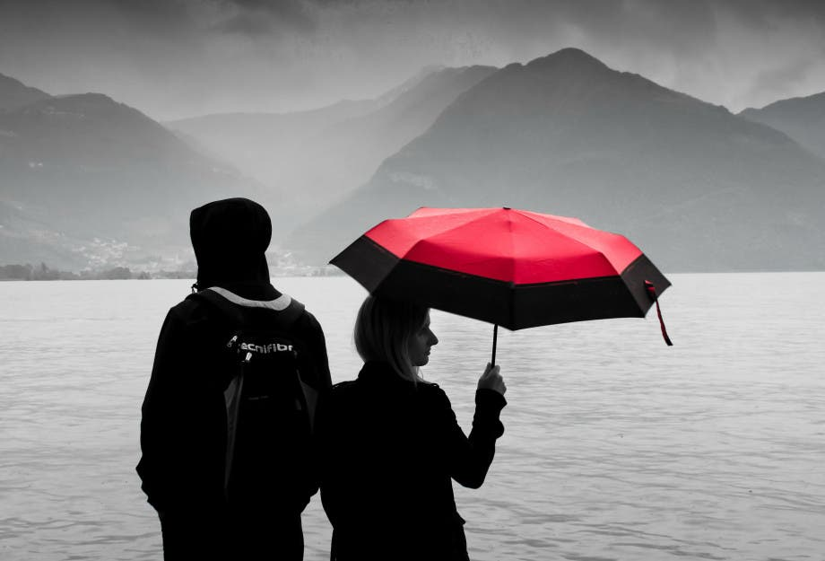 chica-lluvia
