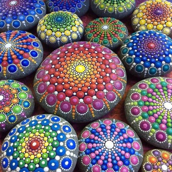 piedras oceanica pintadas