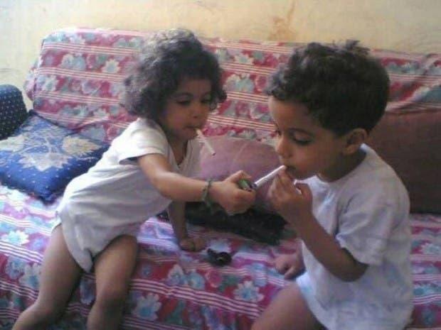Niños-cigarro