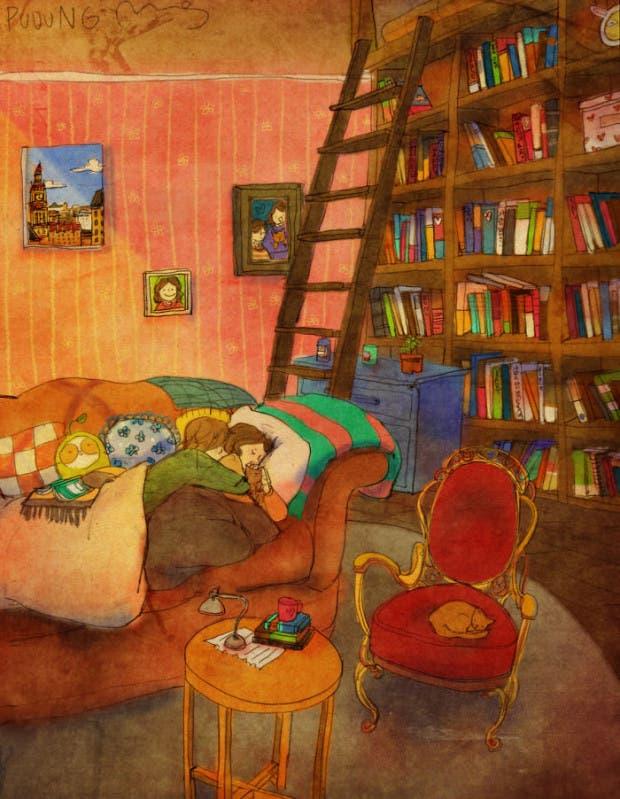 amor-detalles-Puuung-artista-ilustraciones-sofa