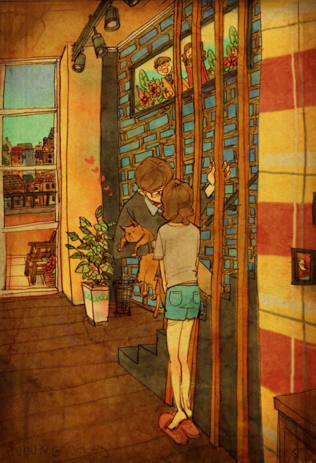 amor-detalles-Puuung-ilustraciones-beso-romantico