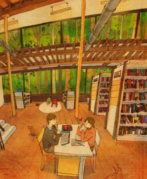 amor-detalles-Puuung-ilustraciones-biblioteca
