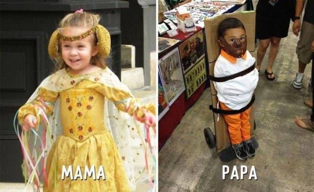 mama-papa-diferencias-divertidas-disfraz