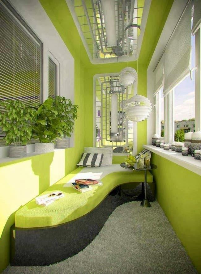 20 magníficas ideas para convertir tu balcón en un espacio genial ...
