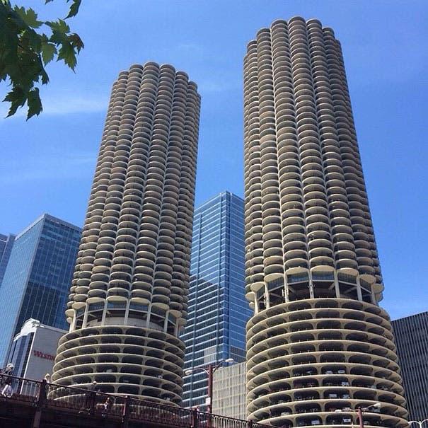 La Marina Towers en Chicago