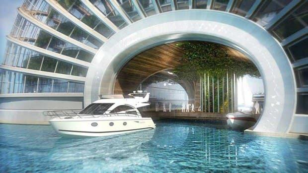 """""""El Arca"""", un hotel donde estarías a salvo ante cualquier fenómeno natural ¡Es único!"""
