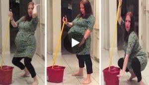 mujer-embarazada-bailando-con-mucho-ritmo