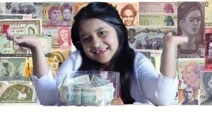 niños-revisar-billetes-mujeres