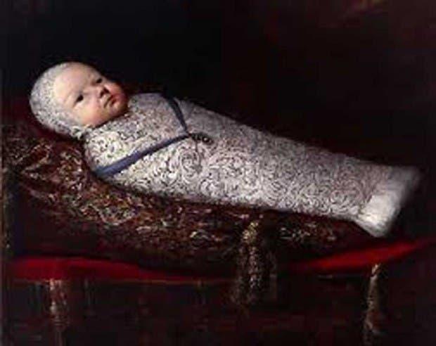 bebé momia
