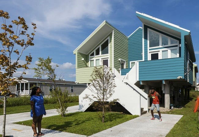 Brad Pitt cambia por completo la vida de 109 familias damnificadas por el huracán Katrina