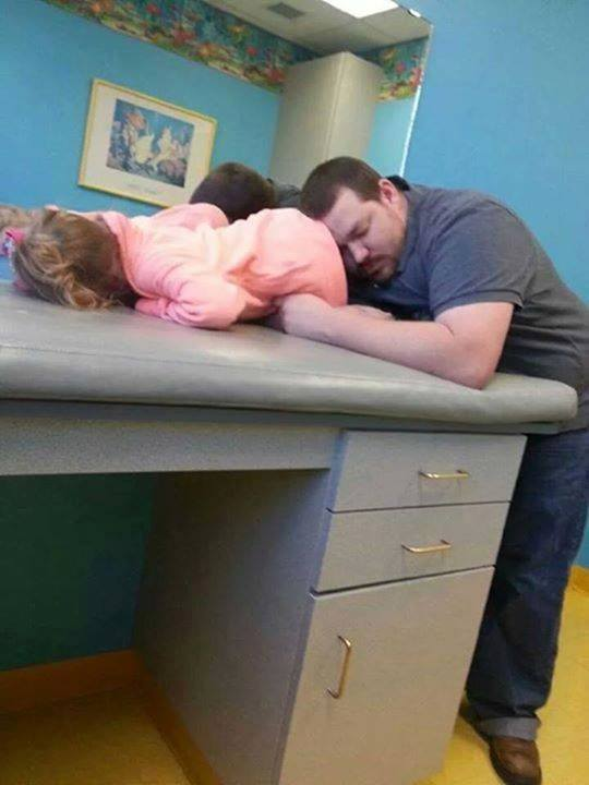 cansado como papá