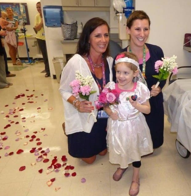niña se casa con enfermero1